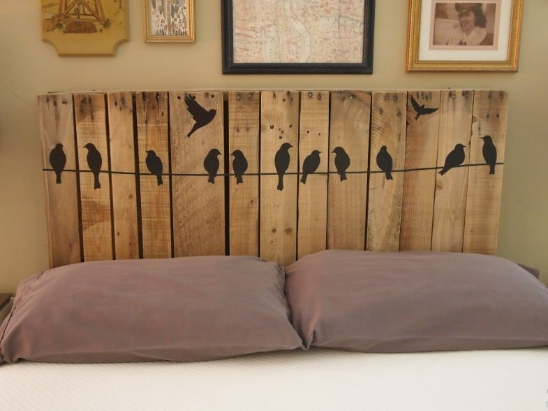 easy to make headboard ideas