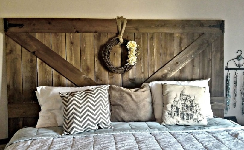 wood headboard ideas