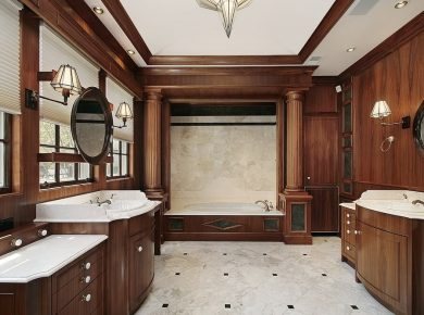 Best Flooring For Bathroom - Master Bathroom Interior Design And Decor Ideas 8