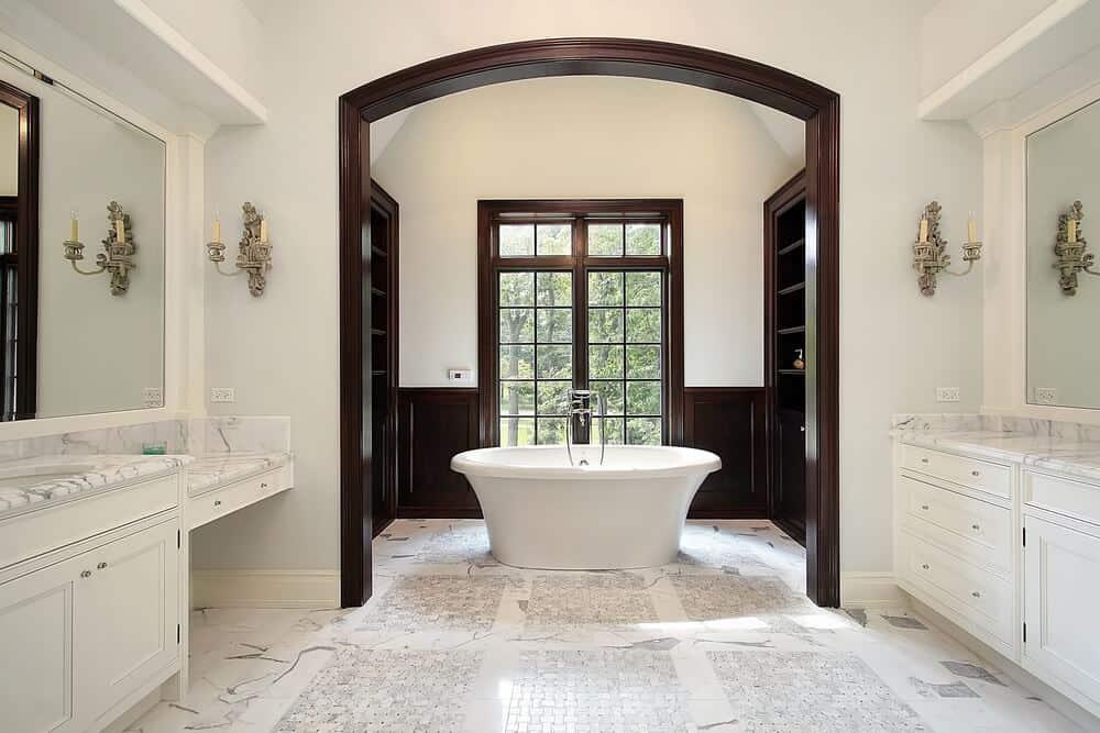 master bathroom layout ideas