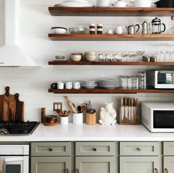 Open Kitchen Shelving Ideas - Open Shelving Kitchen Ideas 10