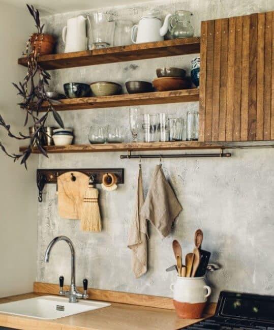 Open Kitchen Shelving Ideas - Open Shelving Kitchen Ideas 12