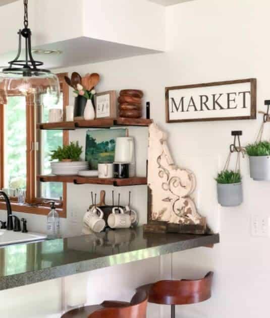 Open Kitchen Shelving Ideas - Open Shelving Kitchen Ideas 16