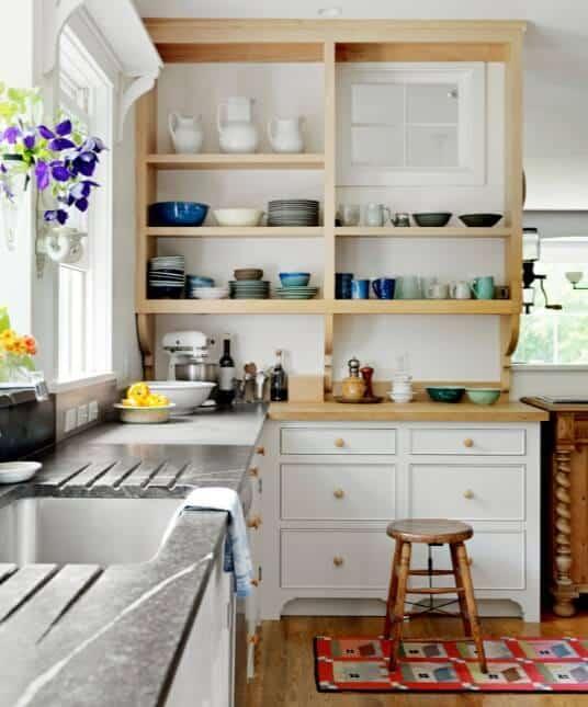 Open Kitchen Shelving Ideas - Open Shelving Kitchen Ideas 17