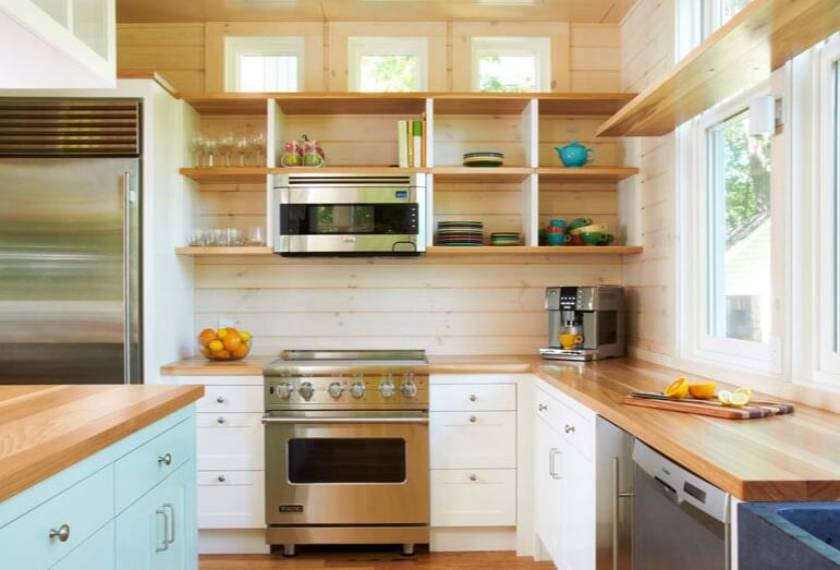 Open Kitchen Shelving Ideas - Open Shelving Kitchen Ideas 18
