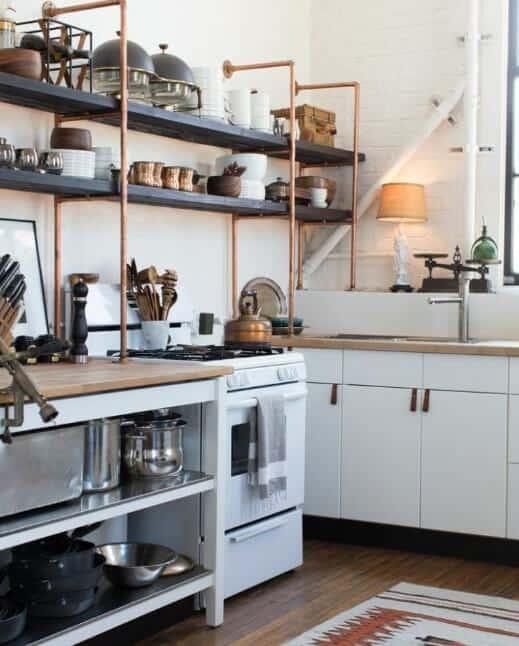 Open Kitchen Shelving Ideas - Open Shelving Kitchen Ideas 5
