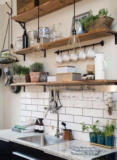 Open Kitchen Shelving Ideas - Open Shelving Kitchen Ideas 6