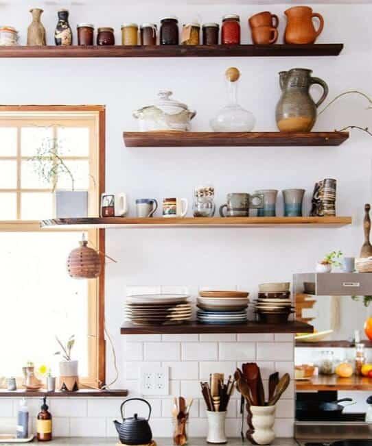 Open Kitchen Shelving Ideas - Open Shelving Kitchen Ideas 7