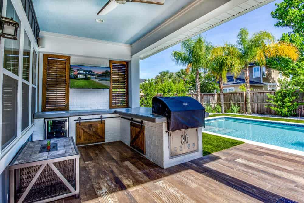 modern outdoor kitchen ideas