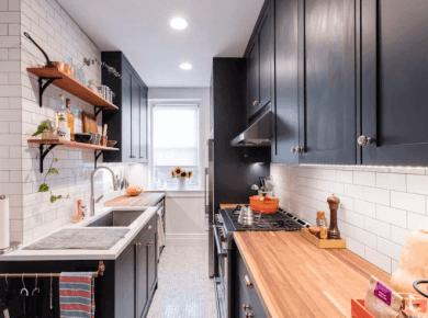 Small Kitchen Ideas - Small Kitchen Decor And Design Ideas Via Sweeten