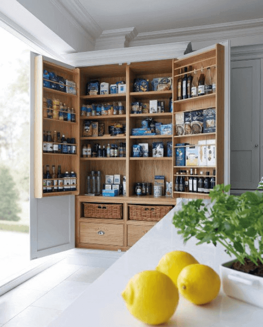 pantry shelving ideas