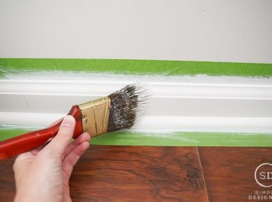 How To Paint Baseboards For Beginner (In 10 Easy Steps) - Painting Baseboards Tips By Simplydesigning