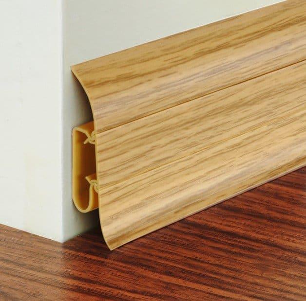 Vinyl Baseboard Material