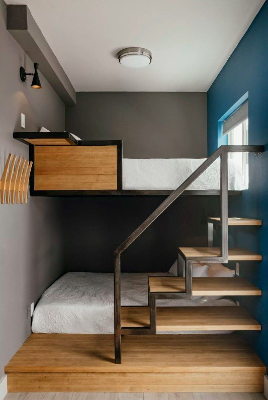 25 Bunk Bed Ideas For Small Bedrooms And Apartments