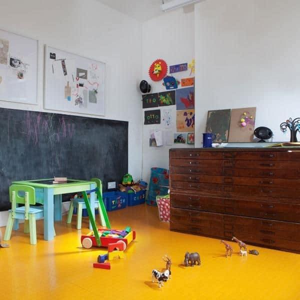 Rubber Flooring for Kids Bedroom
