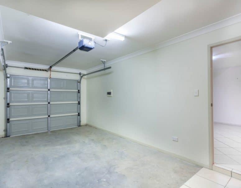 Concrete flooring for garage