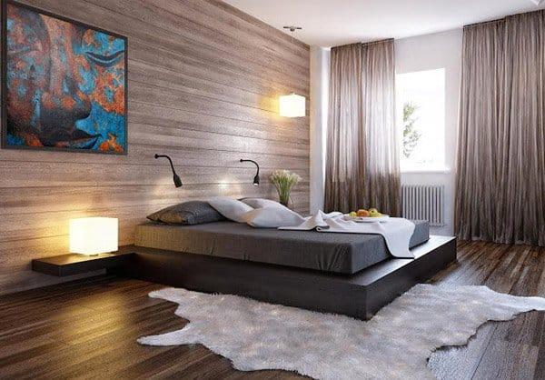 Go Modern by Using Sheet Wood Panels