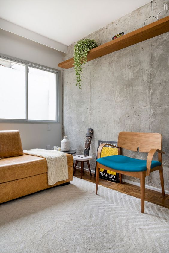 Channel an Industrial Vibe With Concrete