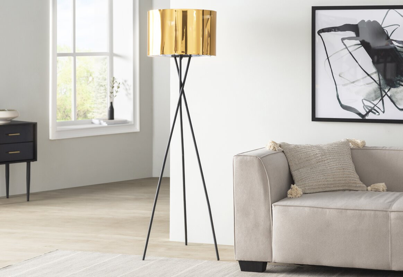Shiny Floor Lamp