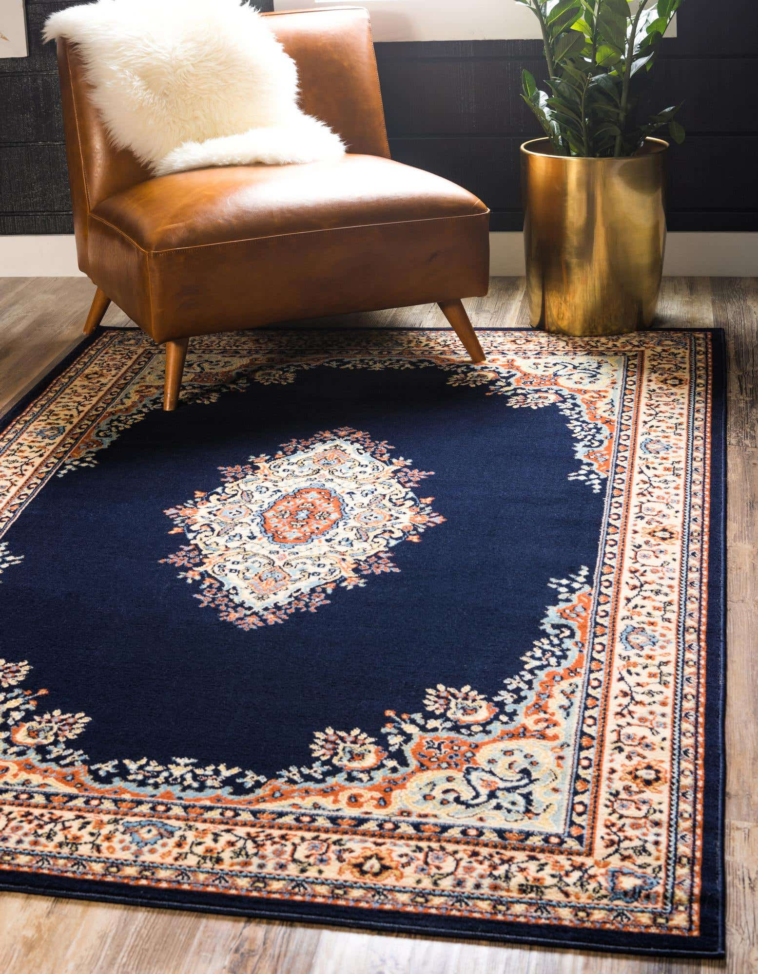 Traditional Blue Rug