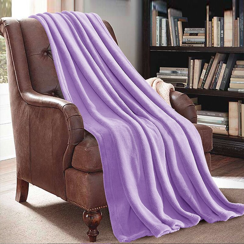Liven It Up with a Colorful Throw