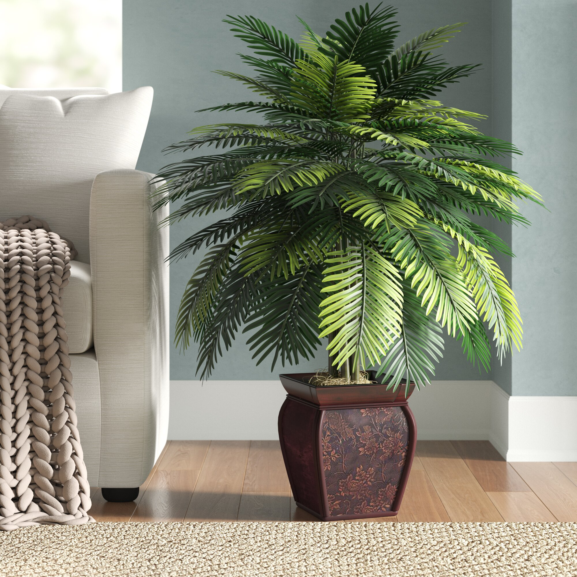Surround the Sofa with Plants