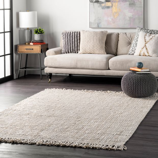 Choose an Off-White Rug to Enhance the Space