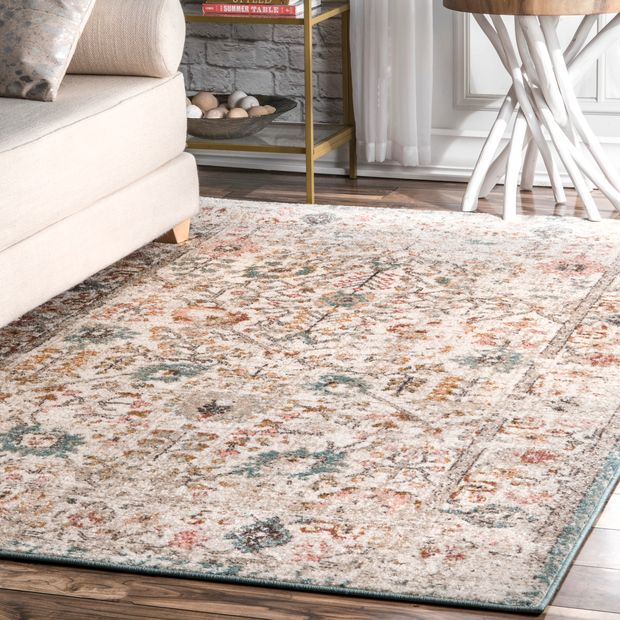 Native Collage Area Rug