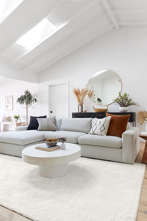 Opt for an Oversized Rug