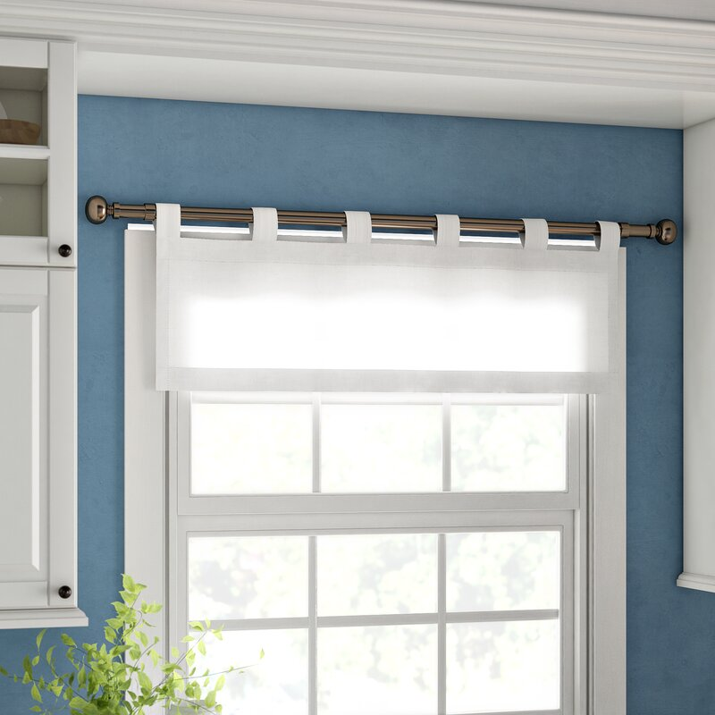 Style with a Short Cotton Curtain