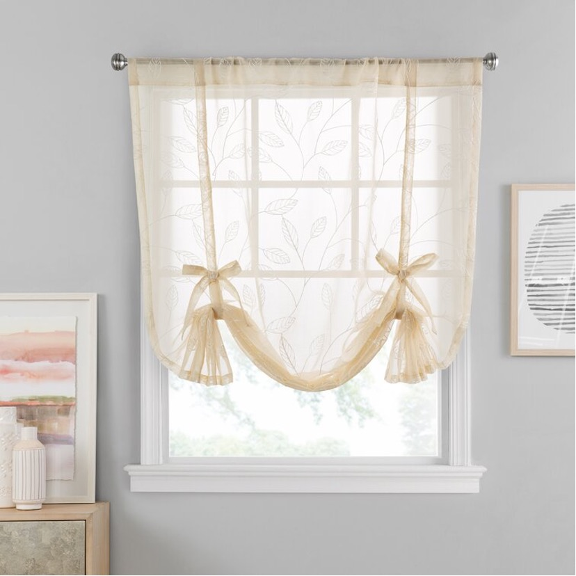 Add a Cottagecore Flair with Bow Curtain Panels
