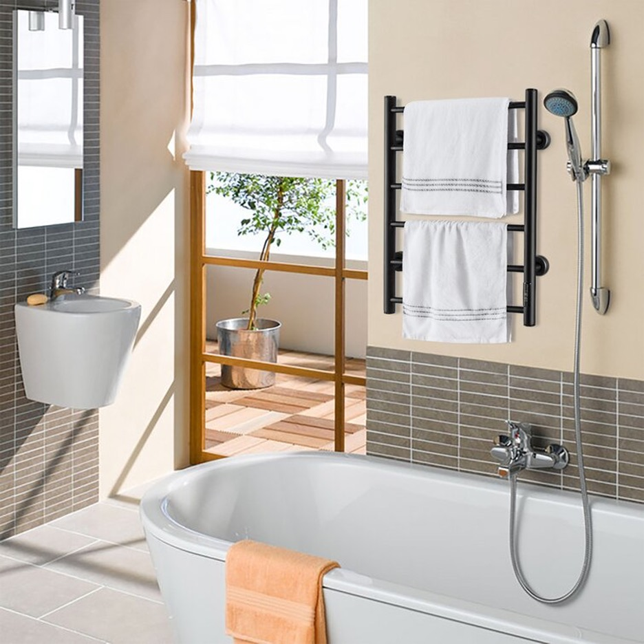 Heat It Up with an Electric Towel Rack