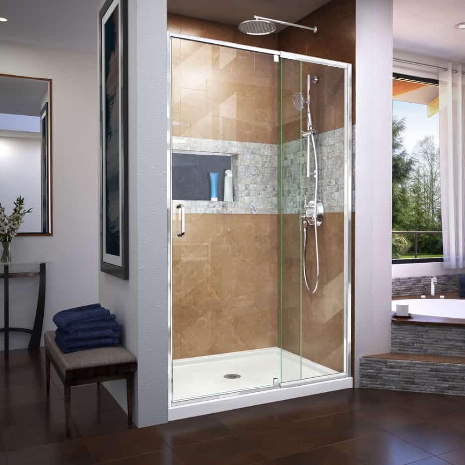 Install a Clear Glass Door