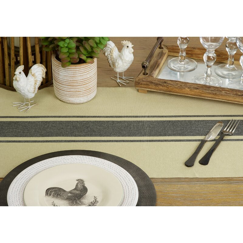 Table Runners Are Made for Round Tables