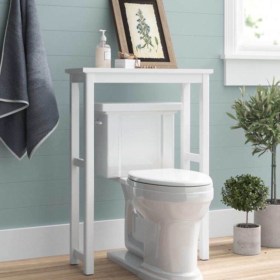 Consider Single-Shelf Floor-Mounted Storage
