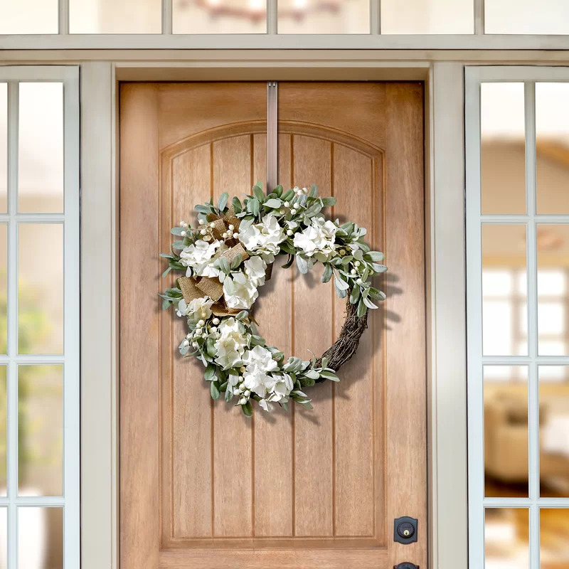 Experience the Beauty of Wreaths Indoors With a Closet Wreath