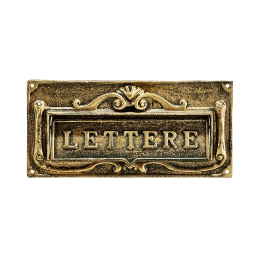 Dress Up Your Door with a Classic Mail Slot