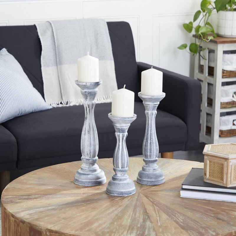 Get Some Candle Holders for a Rustic Vibe