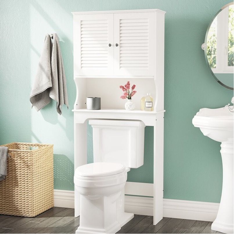 Maximize Storage Space with Over-the-Toilet Cabinets
