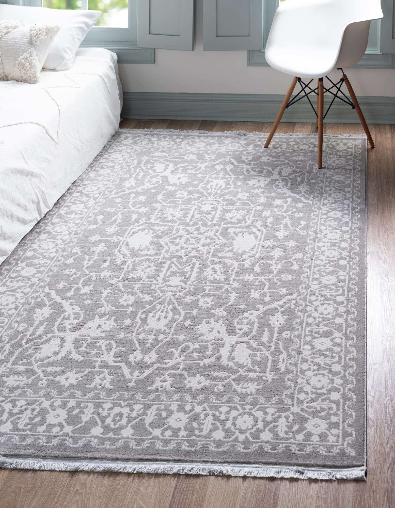 Classical Gray Rug