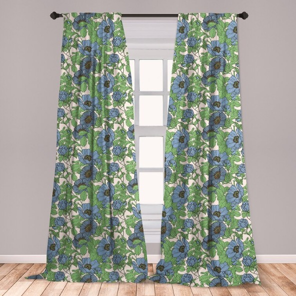 Pay Tribute to Your Favorite Flower with Floral Curtains