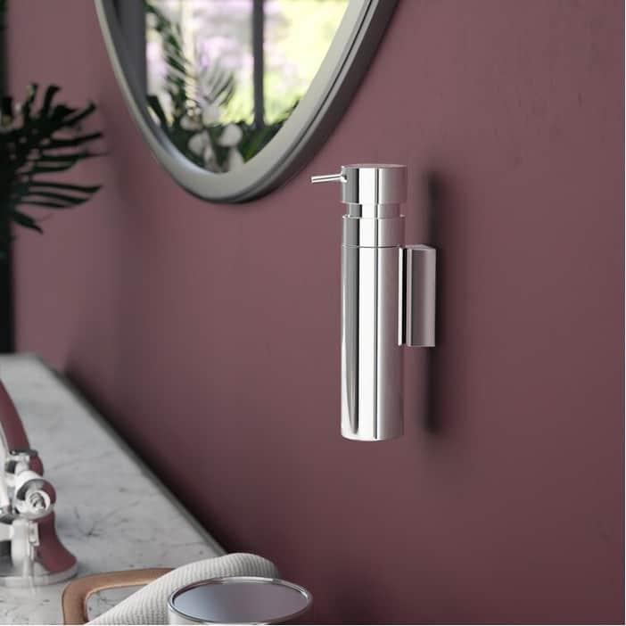 Reduce Clutter a Wall-Mounted Soap Dispenser