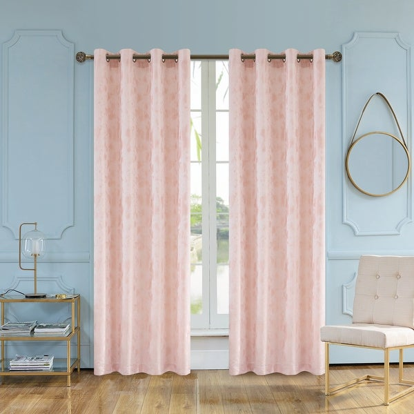 Baby Pink Curtains With Baby Blue Walls