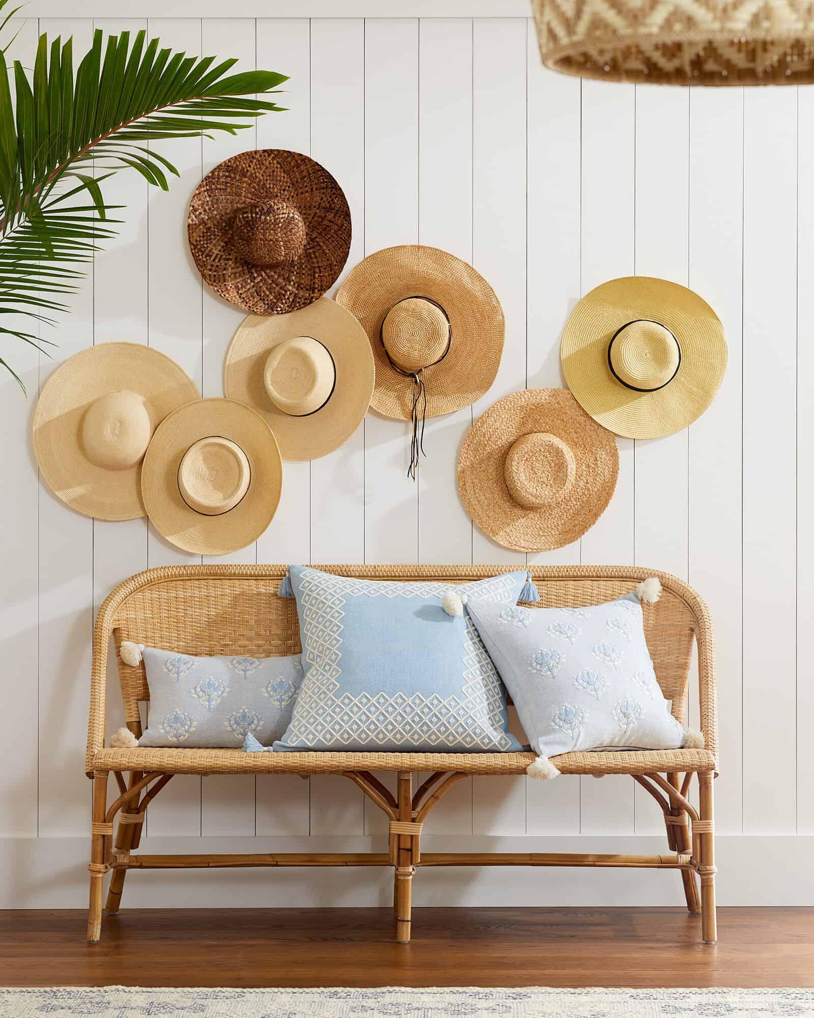 Bonus: Sunwashed Riviera Bench