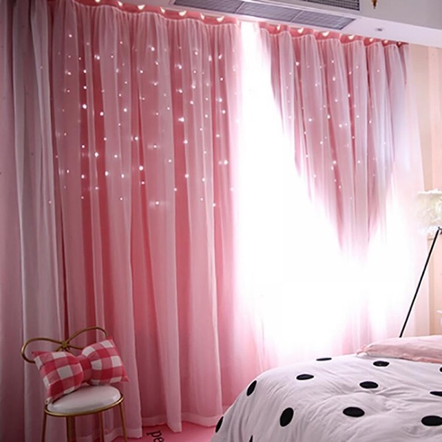 Experiment with Hollow Cut-Out Curtains