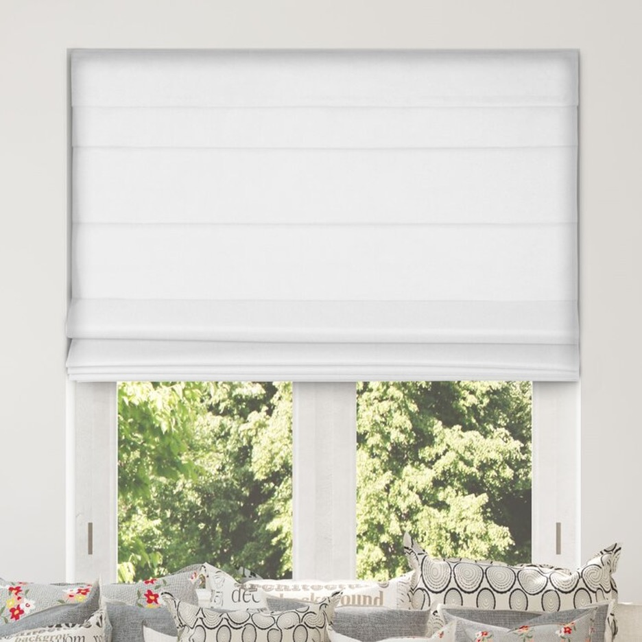 Experiment with Pure-White Farmhouse Blinds