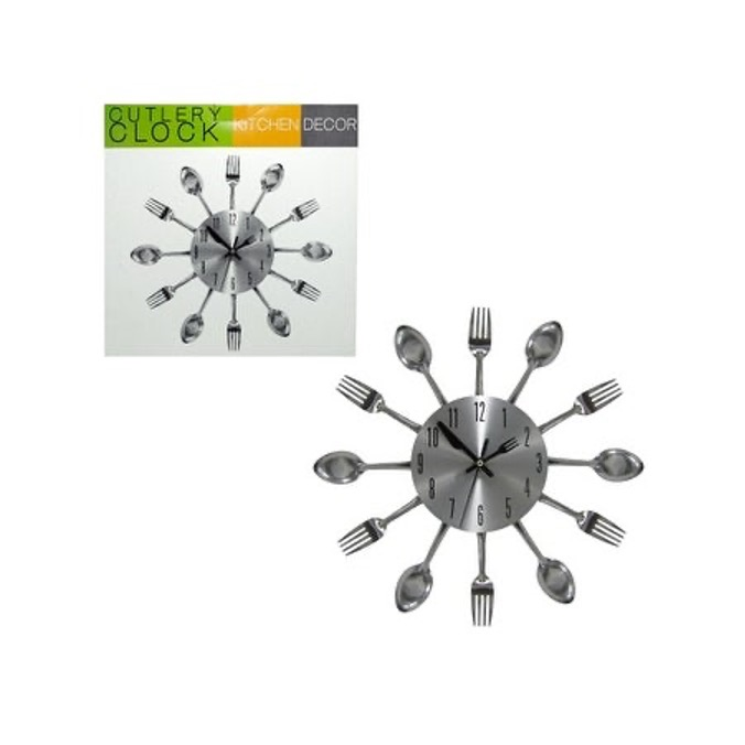 Tell the Time with a Cutlery Clock