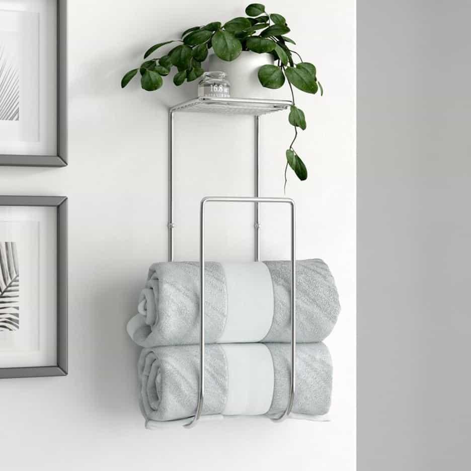 Mount a Slip-In Towel Rack