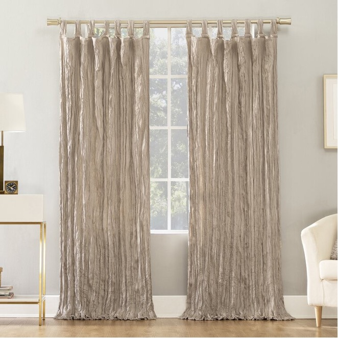 Try Out Distressed Curtains
