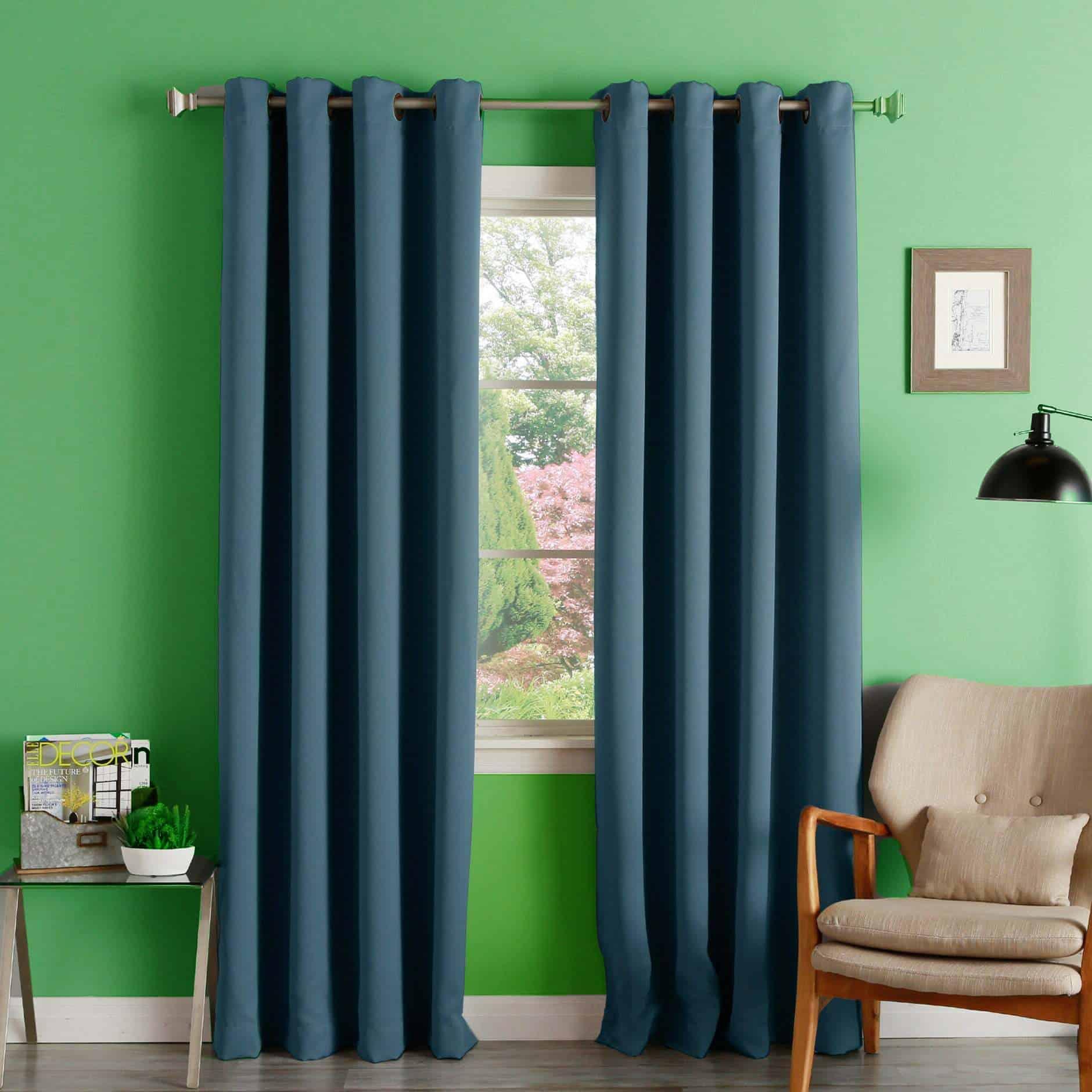 Choose Blue Curtains for a Breath of Fresh Air
